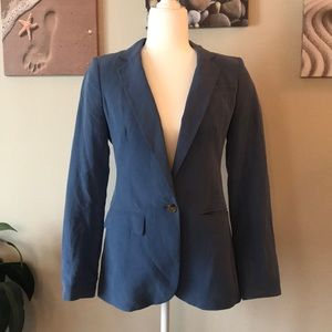 Chambray Banana Republic blazer